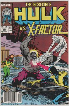 Incredible Hulk V1 336.  NM. Oct 1987.  by RubbersuitStudios, $18.00