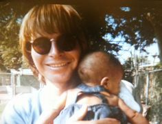John Denver and baby Zachary - (screenshot from the Country Boy DVD)