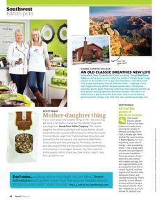 Goodytwos featured in Sunset magazine- 2012!