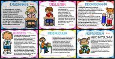 Definiciones de los diferentes trastornos y síndromes que podemos encontrar en NUESTRAS CLASES Montessori Activities, Infant Activities, Multiple Intelligences, Educational Crafts, Teacher, Classroom, Comics, Learning, School