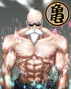 Master Roshi in color by luckfield on deviantART