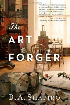 "The Art Forger by Barbara Shapiro  ~ great story about Degas painting ""After the Bath""  Quite a thriller 2/13"