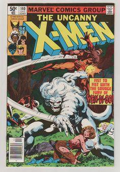 Uncanny X-Men V1 140 Comic Book. NM. by RubbersuitStudios #xmen #comicbooks