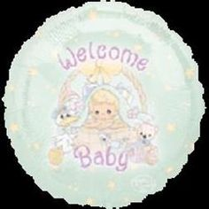 """Precious Moments Baby Shower Theme 