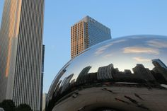 Millennium Park - Chicago My Photos, Chicago, Backyard, Clouds, Park, Places, Travel, Patio, Viajes