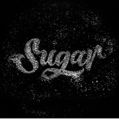 Sugar via @arnalovianna. Been loving the music series he's been up to recently. His page is definitely worth checking out! #brushtype -  #goodtype #handlettering #thedailytype #typematters #thedesigntip #dailytype #typespire #brushtype #todaystype #typematters #typegang by brush_type