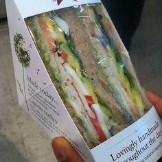 California Club Sandwich @ Pret A Manger