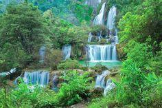Teelorsu waterfall, Thailand