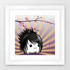 Zen Cumi Framed Art Print by goatgames Goat Games, Indie Games, Framed Art Prints, Goats, Zen, Asia, Goat
