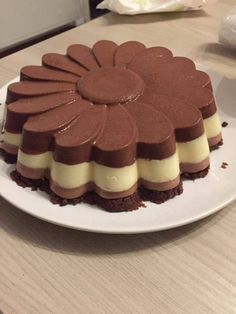 Sweet Recipes, Cake Recipes, Dessert Recipes, Italian Desserts, Just Desserts, Torta Zebra, Cooking Time, Cooking Recipes, Buzzfeed Tasty