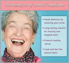 Ask us about dental implants! #dentistry