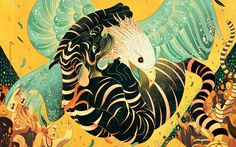How do you get from a commission to illustrate a piece about investment advisors to drawing a boy riding a fiery swan guiding you through the night? Victo Ngai did just that for PLANSPONSOR magazine. What's more, the Hong Kong…