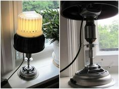 Nilfisk Lamp: Made from recycled vacuum cleaner