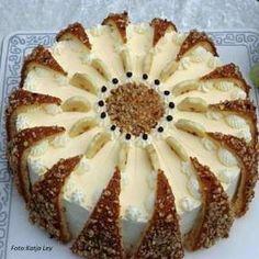 Bananen-Eierlikör-Torte » Kochrezepte von Kochen & Küche