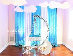 Struggling for ideas for the baby naming ceremony decoration? Remarkable cradle ceremony decoration & themes to make your little one's day memorable. Backdrop Decorations, Indian Wedding Decorations, Baby Shower Decorations, Backdrops, Naming Ceremony Decoration, Ceremony Backdrop, Ceremony Decorations, Flower Backdrop, Cradle Decoration
