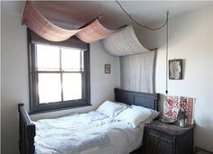DIY: Instant Bed Canopy