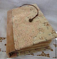 Персиковый нюанс. Блокнот с нуля, личный дневник ручной работы - блокнот