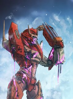 Rodimus<<< Why is he smiling! His arm just fell off!
