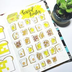 Get your bullet journal mood trackers here! Check out these 52 very cool mood tracker ideas for your bullet journal! Bullet Journal Tracker, Bullet Journal Disney, Bullet Journal Banner, Bullet Journal Notebook, Bullet Journal Hacks, Bullet Journal Ideas Pages, Bullet Journal Spread, Bullet Journal Layout, Bujo Planner