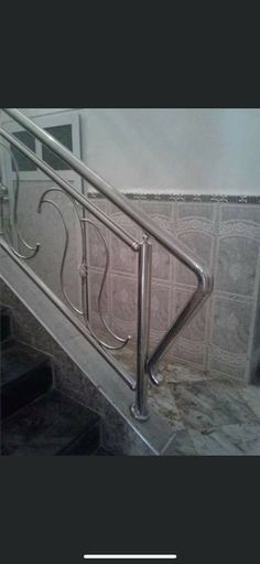 Stair Railing, Stairs, Stainless Steel Railing, Human Anatomy, Entryway Tables, Furniture, Home Decor, Banisters, Stair Banister