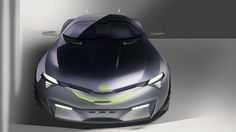 Kia sports car inspired by recent sci-fi movies about interstellar travel.
