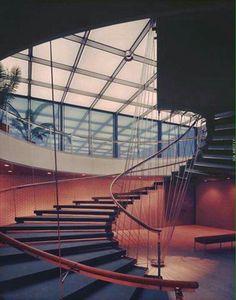 Los encantos del helicoide, el genio de E. Saarinen.
