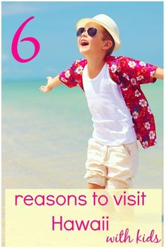 My six reasons to book a family holiday in Hawaii - from volcanoes to beaches and child-friendly adventure, not to mention seahorses and stargazing. Where to start when choosing a Hawaiian island, including the Big Island, Oahu and Maui. #hawaii #familyhawaii #hawaiiwithkids #mummytravels Visit Hawaii, Maui Hawaii, Oahu, Maui Travel, Usa Travel, Travel Destinations, Travel Tips, Travel With Kids, Family Travel