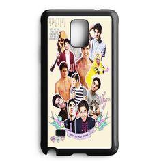 Darren Criss Topman Collage 4 Samsung Galaxy Note Edge Case