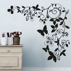 Checkout this latest Decorative Stickers_0-500 Product Name: *Trendy Elegant Vinyl Wall Sticker* Material: Vinyl Size (WX H): 60 cm X 70 cm  Description: It Has 1 Piece Of Wall Sticker  Country of Origin: India Easy Returns Available In Case Of Any Issue   Catalog Rating: ★4 (566)  Catalog Name: Divine Trendy Elegant Vinyl Wall Stickers Vol 7 CatalogID_363897 C127-SC1267 Code: 261-2688658-192