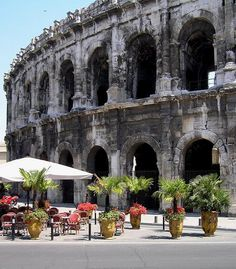 Arènes de Nîmes ( Roman amphitheater), Nimes, France