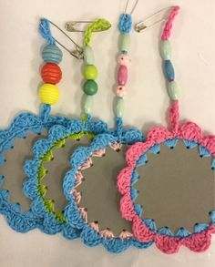 Crochet Projects, Diy And Crafts, Upcycle, Crochet Necklace, Textiles, Baby, Sewing, Handmade, Gifts