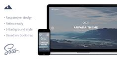 Arvada — Creative Coming Soon & Maintenance Mode Template  Arvada is a creative, modern, professional and responsive Coming soon / Under Construction template, built to introduce your website before launching. The stylish page will indicate that your site is either being worked on or under construction. It is totally universal and will fit any type of website, even thematically specific ones.