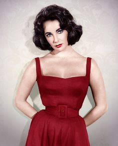 Elizabeth Taylor in RED ... WOW
