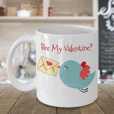 Be My Valentine Coffee Mug, Valentines Gift, Valentines Day Gift, Valentines Mug, Valentines Day Mug, Funny Valentines Gift