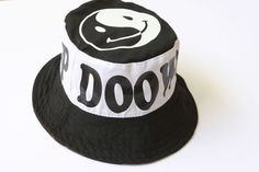 Smiley Face Reversible (Camo print) Bucket Hat | Doo Wop Kids Clothing available from WWW.NOOSHIMOU.COM.AU  That Edgy Kids lifestyle Store with Streetwear and Mini-malist feels/