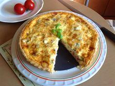 VÍKENDOVÉ PEČENÍ: Slaný koláč Quiche