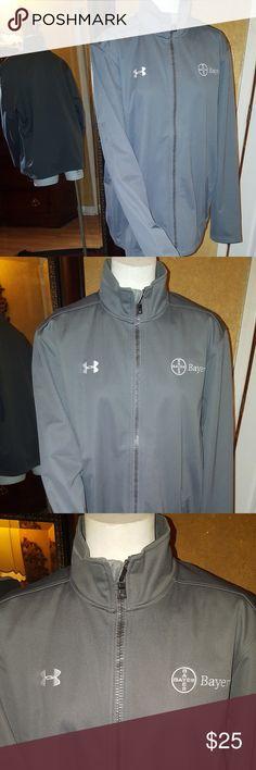 Under Armour cold gear Men's Extreme Storm jacket Under Armour cold gear Men's Extreme Storm Zip Jacket grey size XL Under Armour Jackets & Coats
