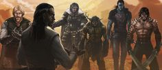 Really like the look of Fear Sengar (second from right) in this one War Council by Shadaan.deviantart.com on @deviantART