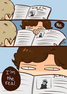 Sherlock - not dead, btw Sherlock Bbc, Sherlock Comic, Sherlock Holmes Benedict, Sherlock Series, Sherlock Fandom, Benedict Cumberbatch, Sherlock Cartoon, Funny Sherlock, Mrs Hudson