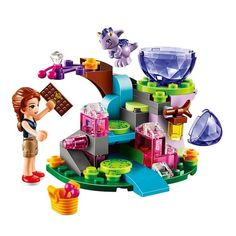 BELA Elves Emily Jones & the Baby Wind Dragon Building Blocks Kits For Girl Kids Model Toys Marvel Compatible Legoe