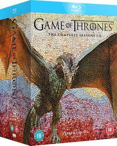 Game of Thrones - Season 1-6 [Blu-ray] [Region Free] [UK Import]