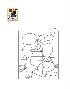 "Search results for ""miro kids"" Drawing For Kids, Art For Kids, Joan Miro Paintings, 6th Grade Art, Spanish Art, Ecole Art, Elements Of Art, Preschool Art, Art Plastique"