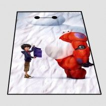 Disney Big Hero 6 Baymax Hiro movie Blanket