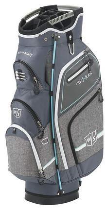Wilson Staff Nexus III cart bag, šedý Golf Bags, Cart, Sports, Covered Wagon, Hs Sports, Sport, Strollers