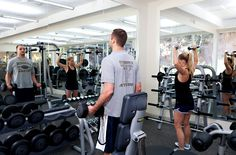 The BodyHoliday gym, just one of many ways to revitalize yourself on your Caribbean vacation
