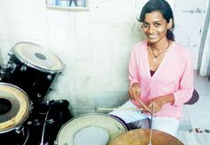 This is a classic example of the phrase, 'Our future lies in our hands' A story about how a girl from Red light are drummed her way to USA. http://rakshithahegde.blogspot.in/2014/09/saluting-sheetal-jain-who-drummed-her.html