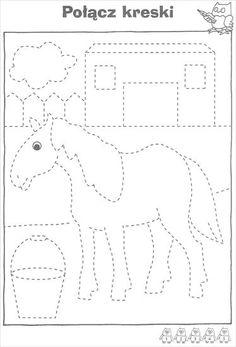 Fall Preschool Activities, Kindergarten Math Games, Fine Motor Activities For Kids, Printable Preschool Worksheets, Preschool Writing, Tracing Worksheets, Preschool Curriculum, Worksheets For Kids, Kids Learning