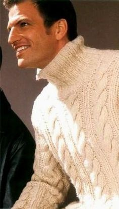 Men wearing sweater