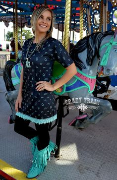 Brand Your Cattle Dress