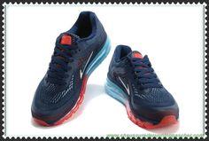 separation shoes 1143e 72aa6 Bleu Recall Vivid Bleu LT Cramoisi Blanc 621077-416 Nike Air Max 2014  Hommes-Femmes Livraison Rapide